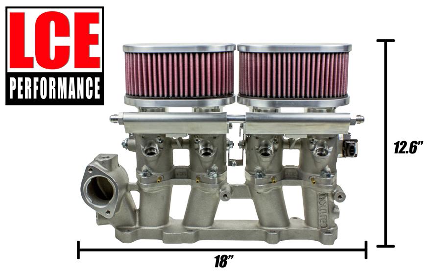 Sidedraft Throttle Body Kit - 20R/22R/RE/RET