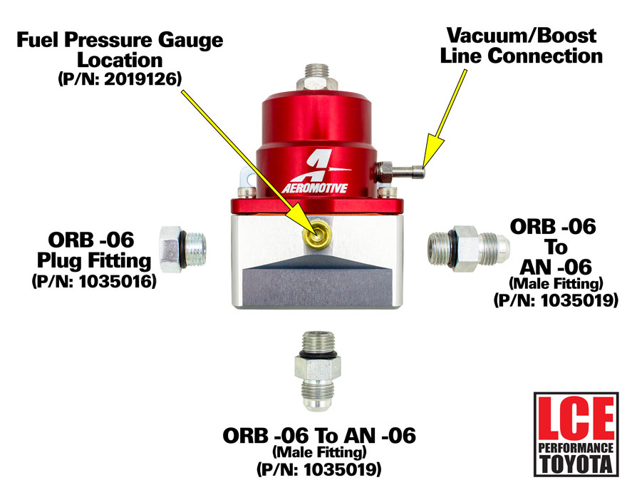 Bypass Fuel Pressure Regulator  30
